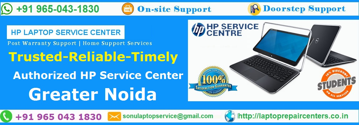 authorized hp service center in Knowledge Park