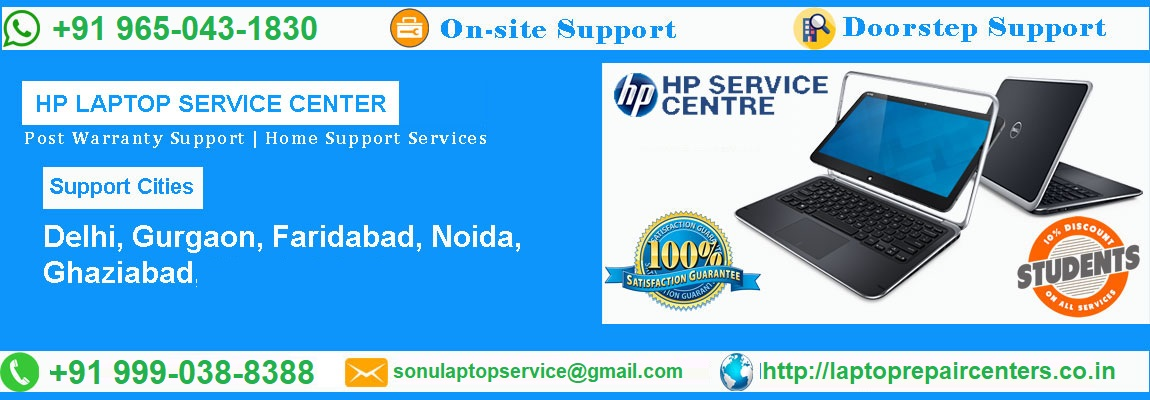 Authorized HP Laptop Service Center In Noida Near Me