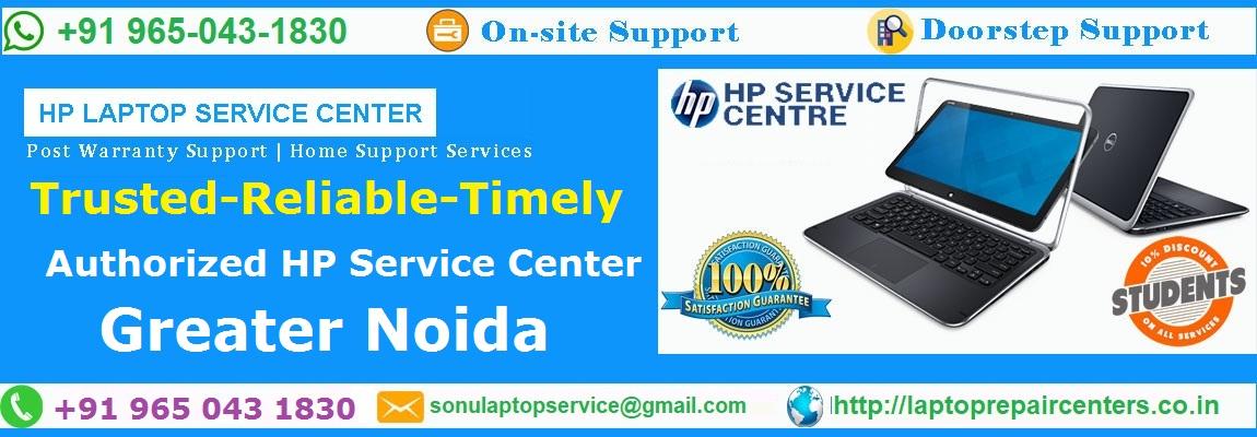 hp laptop service center in alpha greater noida